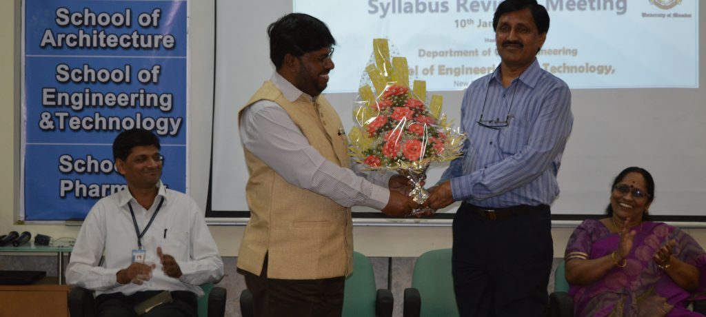 AIKTC's Department of Civil Engineering organized University of Mumbai's Civil Engineering Syllabus Revision Meeting on 10th January 2017