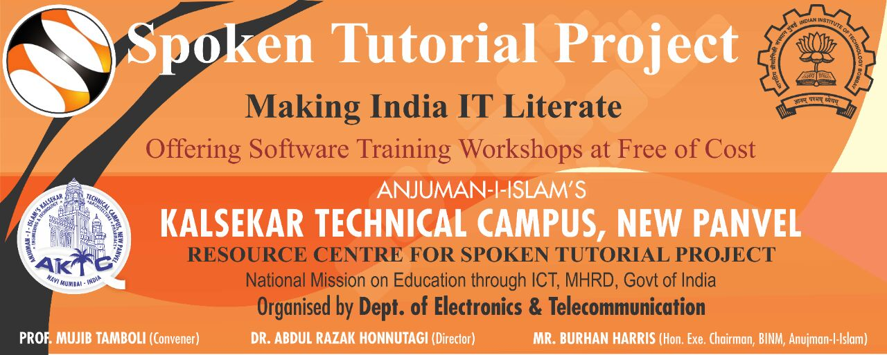 Spoken Tutorials Project of IIT Bombay